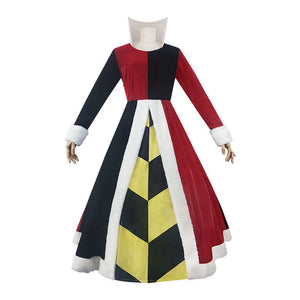 Alice in Wonderland The Red Queen Costume Women Dress for Party
