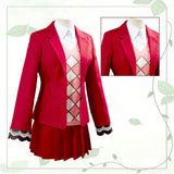 Animal Crossing Red Pink Costume Suit Shirt Dess for Grils
