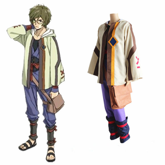 Anime Ikoma Cosplay Costume Men Costume 2019 Halloween Cosplay Costume