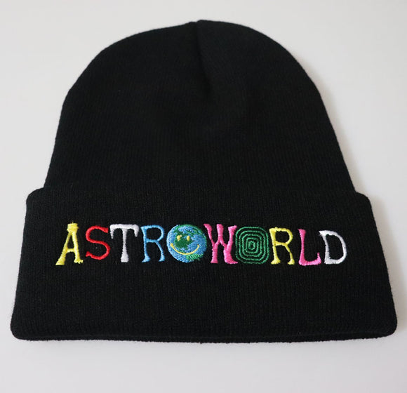 Astroworld Beanie Ski Warm Winter Unisex Beanies Knit Hat