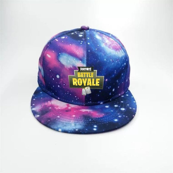 Battle Royale Logo Snapback Cap Hat Galaxy Version