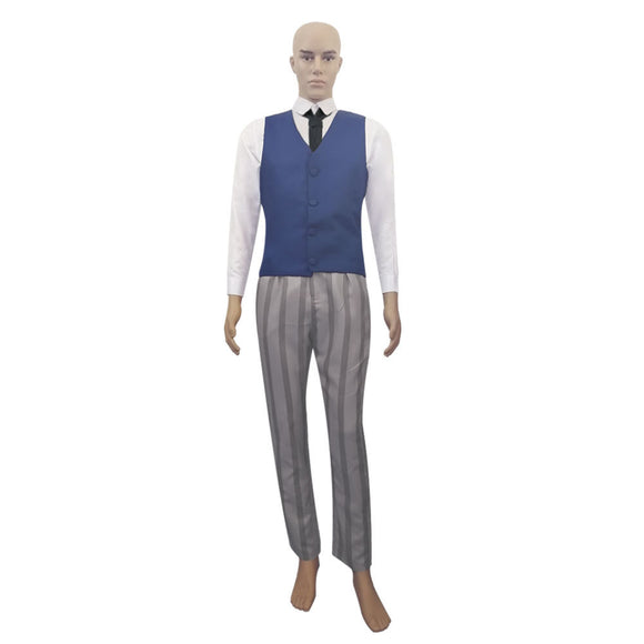 Beastars Suit Long Sleeve Shirt Vest Trousers Show Costume for Adult