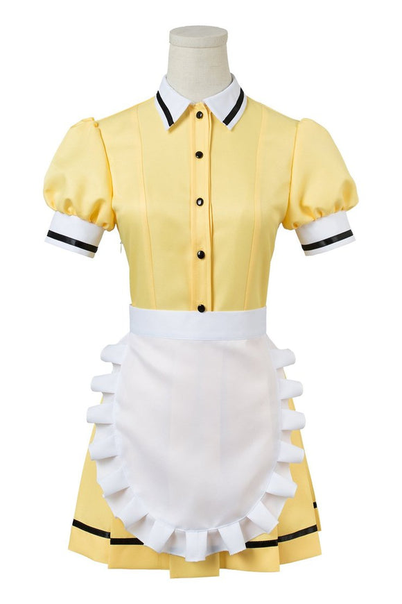 Blend-S Mafuyu Hoshikawa Maid Cosplay Costume Dress Cosplay