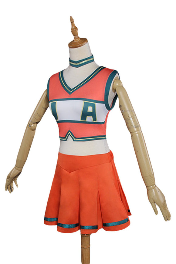 Boku no Hero Academia My Hero Academia cheerleaders Uniform Dress Cosplay Costume