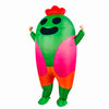 Brawl Stars Default Spike Inflatable Costume Halloween Cos Prop