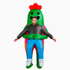 Brawl Stars Default Spike's Hug Inflatable Costume Halloween Cos Gifts