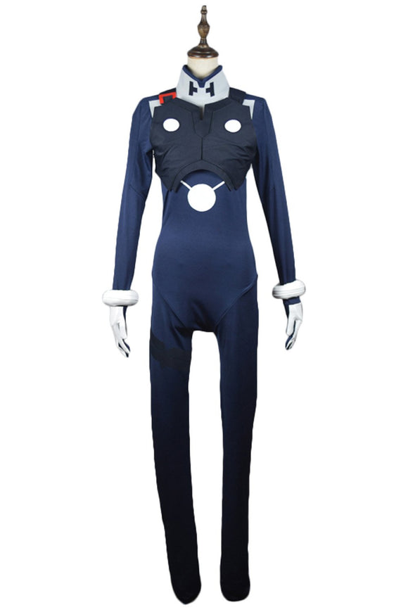 Code 016 Pilot Outfit Suit Cosplay Costume DARLING in the FRANXX HIRO New Vresion