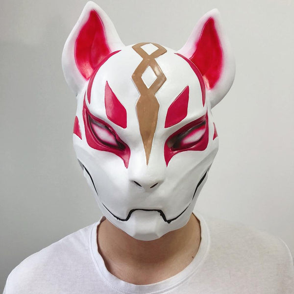 Fortnite Drift Mask Latex Cosplay Accessories Halloween Cosplay