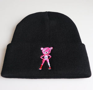 Cuddle Team Leader Unisex Knit Caps Winter Hat