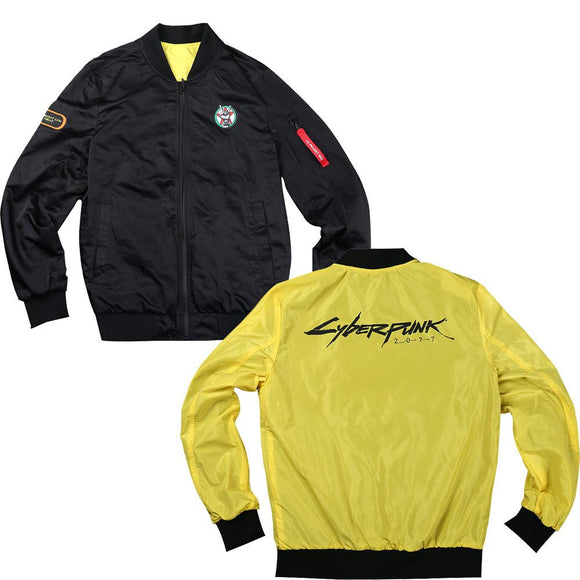 Cyberpunk 2077 Printed Zip Up Jacket Comfortable Pullover Coat