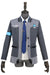 Detroit Become Human Costume Connor RK800 Agent Suit Uniform Tight Unifrom Cosplay Costume