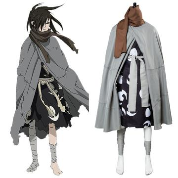 Dororo Hyakkimaru Cosplay Costume Robe Full Set Halloween Cosplay