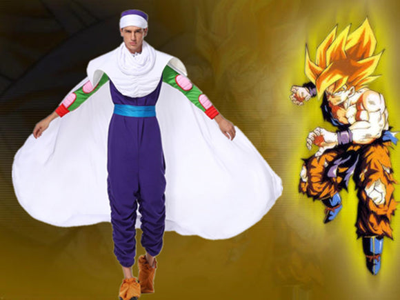 Dragon Ball Cosplay Costume Piccolo Ninja Uniform Halloween Cosplay