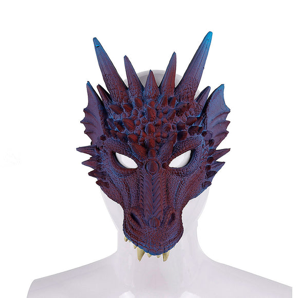 Dragon Mask Animal Face Mask Halloween Cosplay Mask