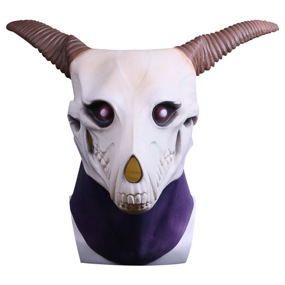 Elias Ainsworth Mask Cosplay Mask Halloween Cosplay Masquerade