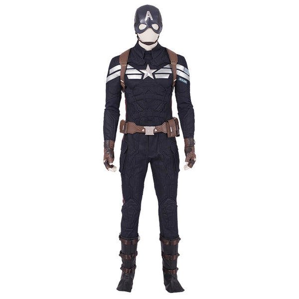 Endgame Captian America Cosplay Costume Whole Set Cosplay for Men