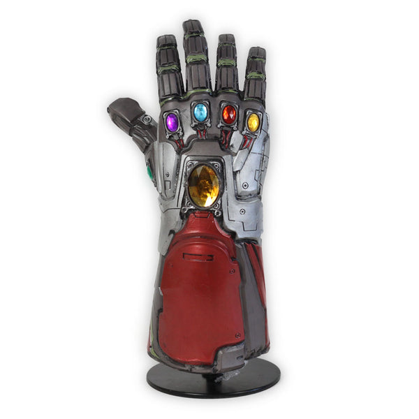 Endgame Iron-Man Titanium Gloves Gauntlet Glove Cosplay Prop Hand Glove Cosplay Accessories