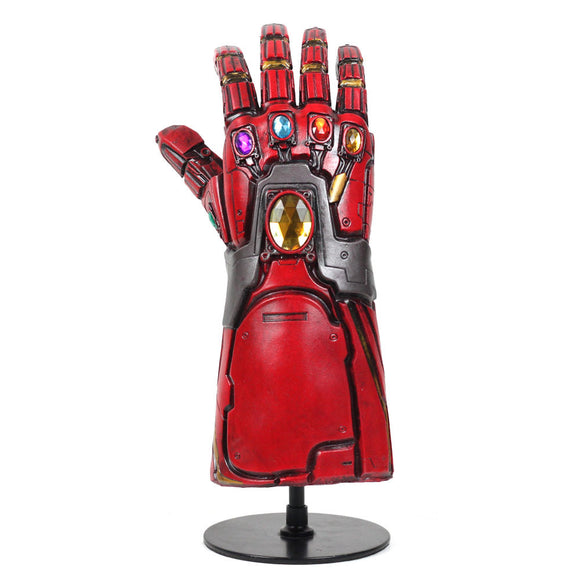 Endgame Iron Man Gauntlet Latex Cosplay Accessories Red Gauntlet New Version