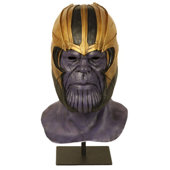 Endgame Thanos Mask Helmet Party Latex Halloween Cosplay