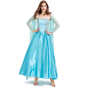 Fairy Tale Princess Dress Costume Halloween Cos Prop for Women