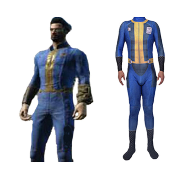 Fallout 4 Costume Halloween Cosplay for Adult Kids