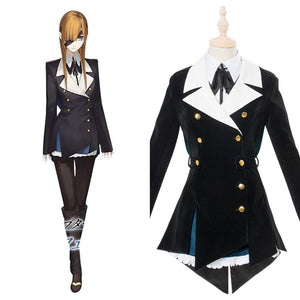 Fate Grand Ophelia Phamrsolone Cosplay Costume School Style