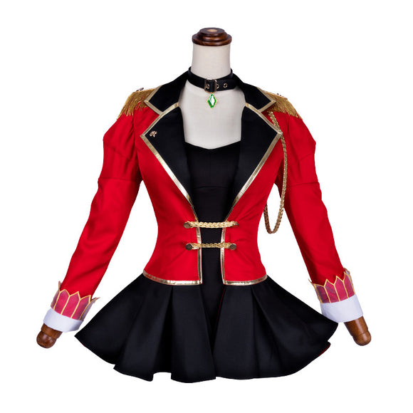 Fate Grand Order Saber Cosplay Costume Cosplay Red Dress for Girls