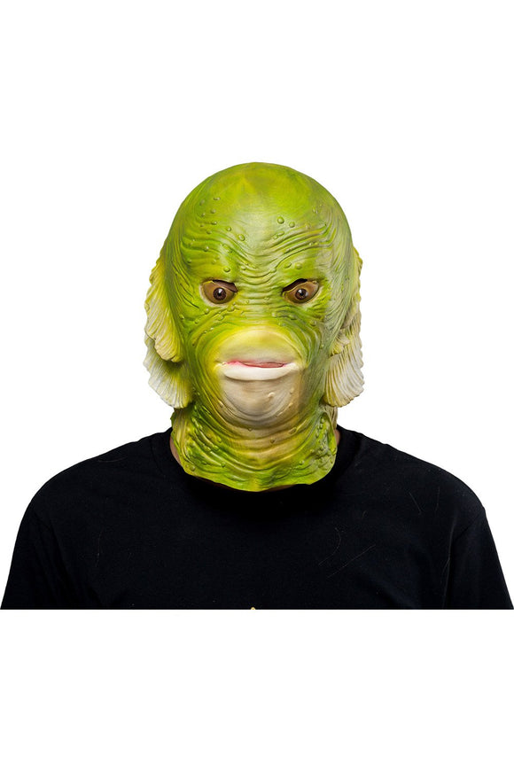Fish Mask Halloween Animal Latex Masks Full Face Mask Adult Cosplay
