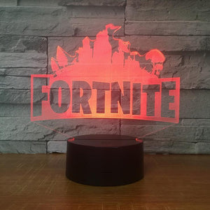 Fort-nite LED Lamp Optical Led Desk Lighting Christmas Gift