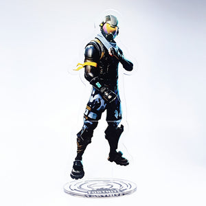 Fortnite Dark Voyager Standing Figure Acrylic Desk Stand Miniature Decorations Xmas Gift Decor