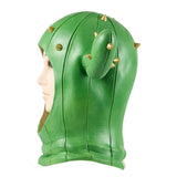 Fortnite Prickly Patroller Mask Latex Helmet Cosplay Halloween Cosplay Green Mask
