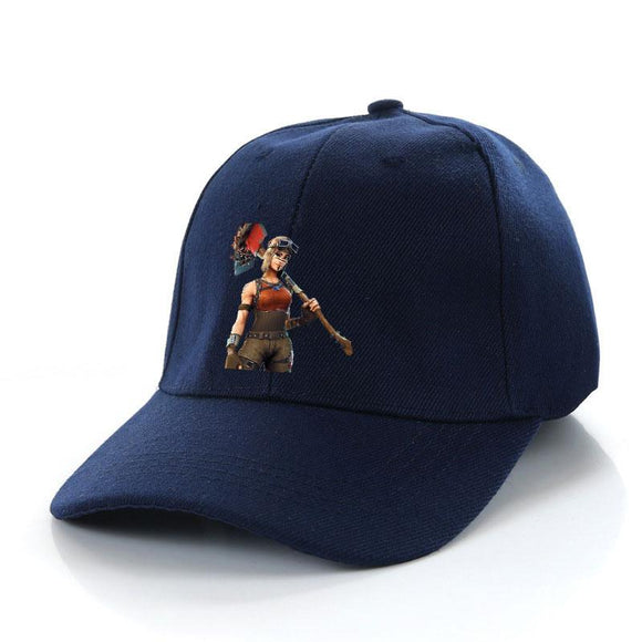 Fort-nite Renegade Raider Golf Hat Outdoors Trucker Hat Adjustable Hunting Cap Boys Girls