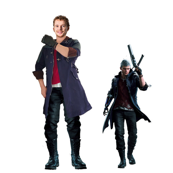 Game Devil May Cry 5 Nero Cosplay Costume Full Set