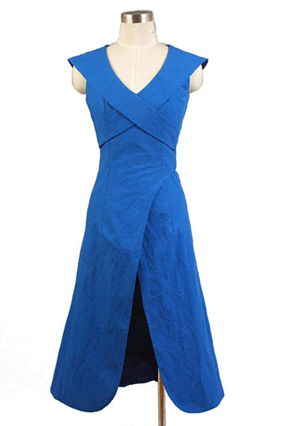 Game of Thrones Daenerys Targaryen Blue Dress Costume