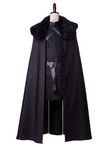 Game of Thrones Jon Snow Night's Watch Cosplay Costume
