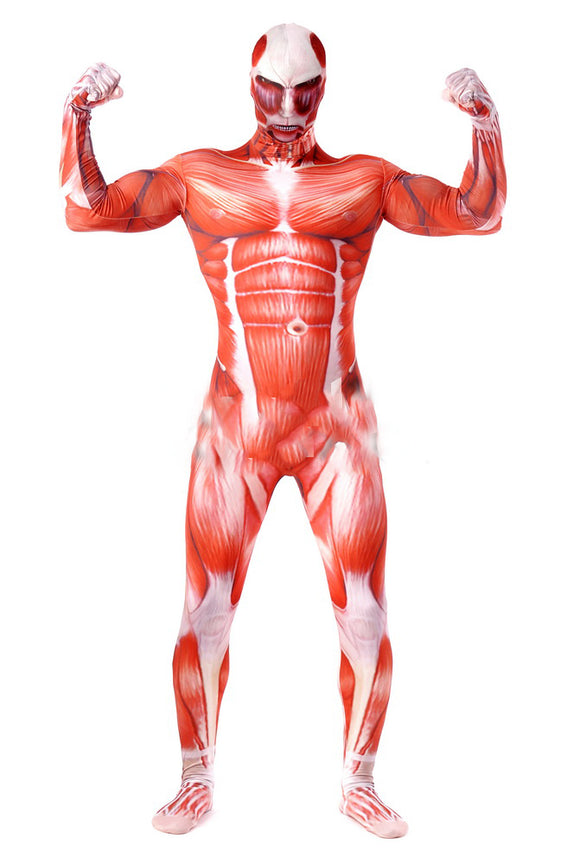 Giant Cosplay Costume Muscle Halloween Bodysuit