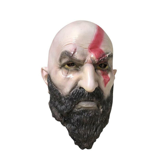 God Of War 4 Kratos Axe Mask Costume Accessory