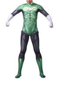 Green Lantern Costume Halloween Cosplay for Adult Kids