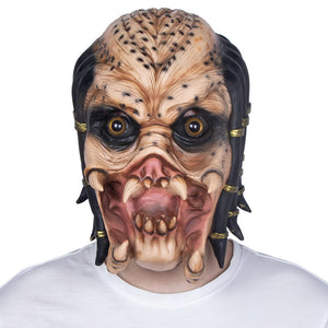 Halloween Cosplay Horrible Mask Predator Mask