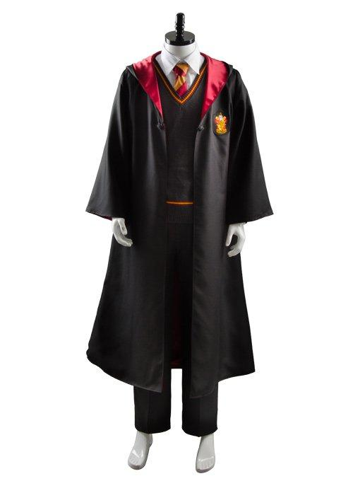 Harry Potter Gryffindor Robe Uniform Harry Potter Cosplay Costume Adults Version