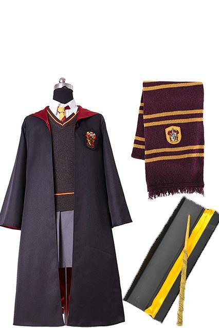Harry Potter Hermione Granger Kids Cosplay Costume Full Set Halloween Cotume