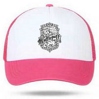 Harry Potter Hufflepuff Hat Outdoors Trucker Hat Adjustable Hunting Cap Boys Girls
