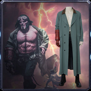 Hellboy Rise of the Blood Queen Hellboy Cosplay Costume Men Halloween Cosplay