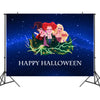 Hocus Pocus Halloween Backdrop Curtain Background Party Wall