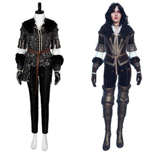 Hunt Yennefer Costume The Witcher 3 Wild Costume Halloween Cosplay