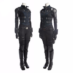 Infinity War Black Widow Natasha Romanoff Cosplay Costume Full Set Cosplay