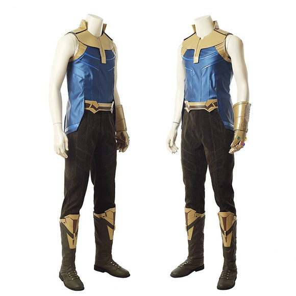 Infinity War Thanos Cosplay Costume Whole Set Costume Halloween