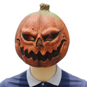 Jack O'Lantern Cosplay Mask Pumpkin Mask Halloween Latex Mask