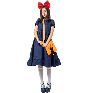 Kiki's Delivery Service Costume Halloween Cos Prop for Women