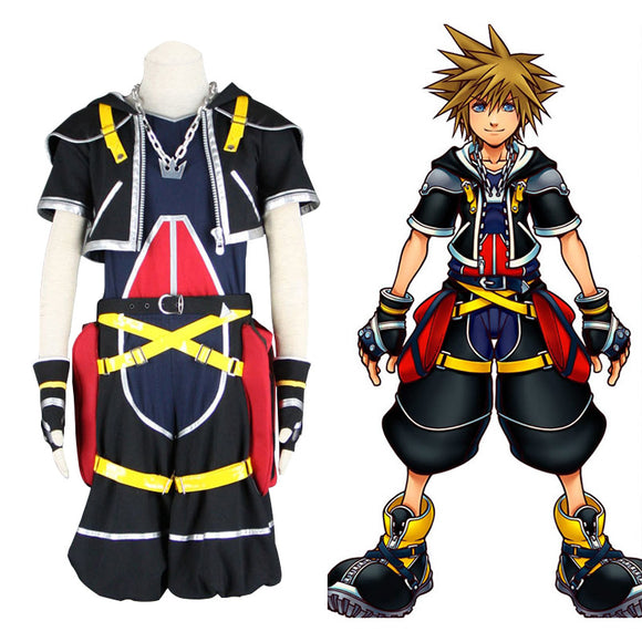 Kingdom Hearts III Sora Costume for Halloween Cosplay